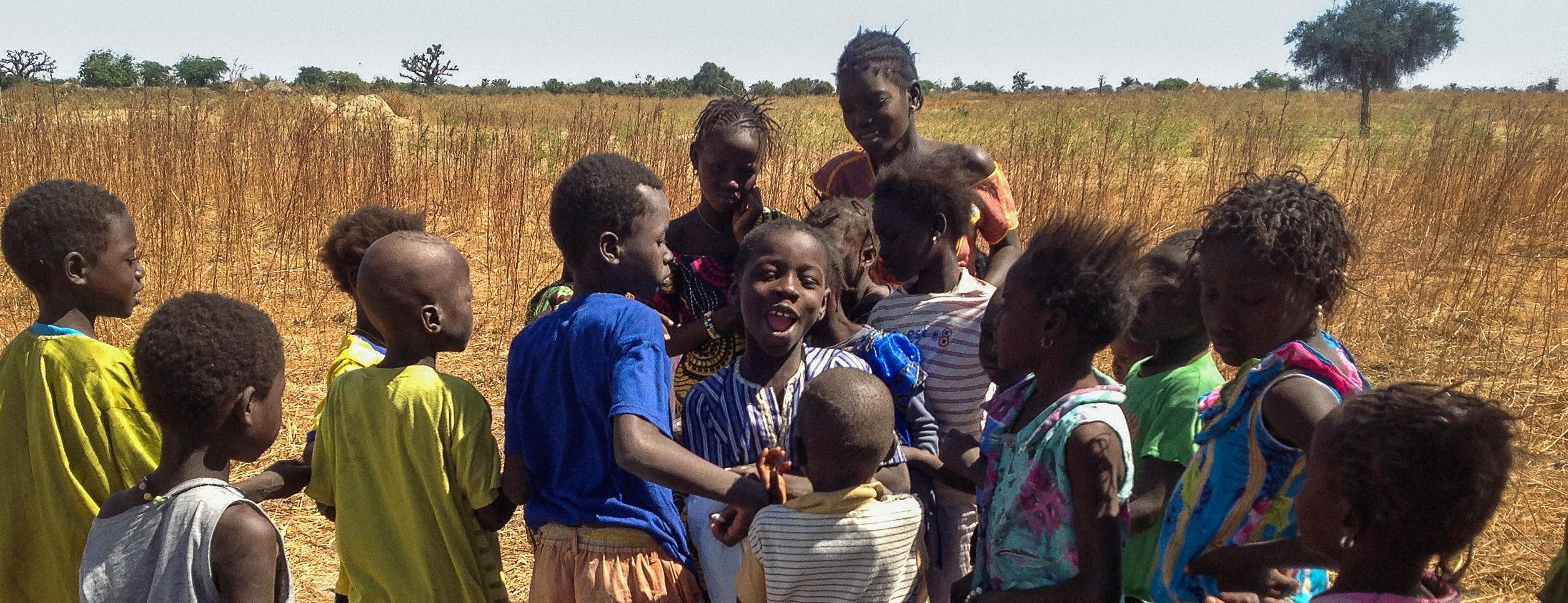Senegal Krankenhaus Bilbassi - Kinder (2)