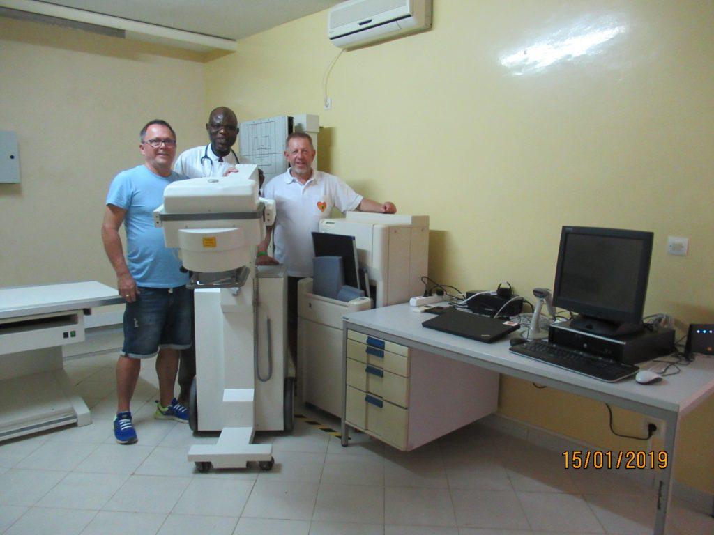 Senegalkrankenhaus Bilbassi - Röntgenanlage Clinique Bilbassi 2019 (1)