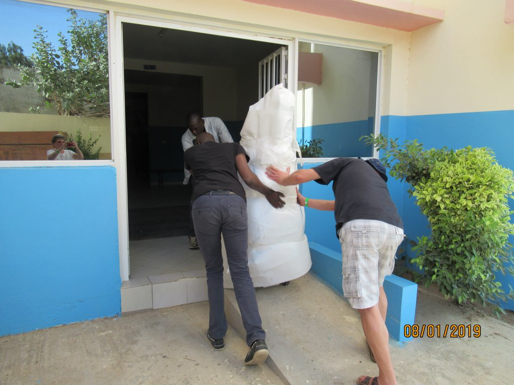 Senegalkrankenhaus Bilbassi - Röntgenanlage Clinique Bilbassi 2019 (2)