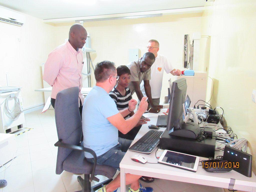 Senegalkrankenhaus Bilbassi - Röntgenanlage Clinique Bilbassi 2019 (7)