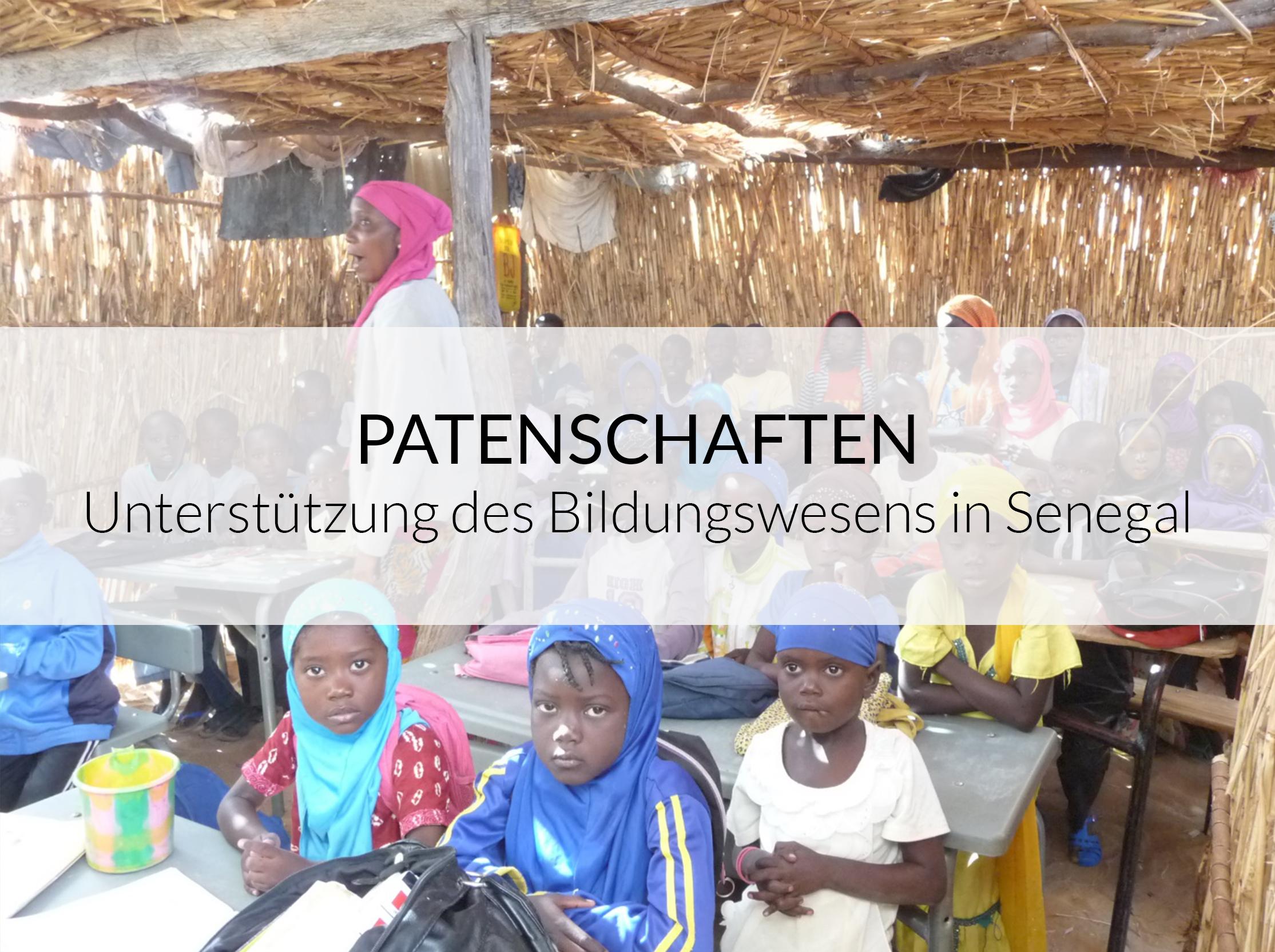 Senegal Krankenhaus Bilbassi - Patenschaften Banner